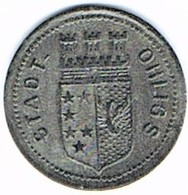 Allemagne - Nécessité - 5 Pf 1917 OHLING - Noodgeld