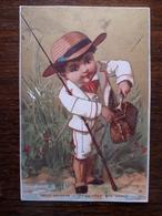 L16/27 Chromo. Petit Poisson Ne Deviendra Pas Grand - Trade Cards