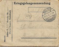 Krijgs Gevangenen Brief - 1914-18