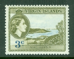 British Virgin Is: 1956/62   QE II - Pictorial   SG152   3c     MH - British Virgin Islands