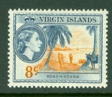 British Virgin Is: 1956/62   QE II - Pictorial   SG155   8c     MH - British Virgin Islands