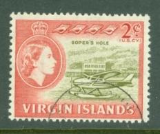 British Virgin Is: 1964/68   QE II - Pictorial   SG179   2c   Used - British Virgin Islands