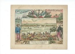 DAHOMEY La Lagune Badaire Amelot Le Whémé Protège-cahier Couverture 220 X 175  Bien 3 Scans Colonies Françaises - Protège-cahiers