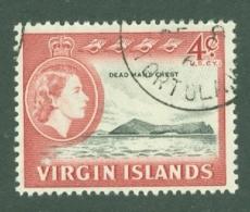 British Virgin Is: 1964/68   QE II - Pictorial   SG181   4c   Used - British Virgin Islands