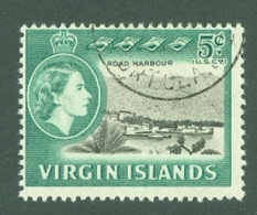 British Virgin Is: 1964/68   QE II - Pictorial   SG182   5c   Used - British Virgin Islands