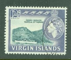 British Virgin Is: 1964/68   QE II - Pictorial   SG186   12c    Used - British Virgin Islands