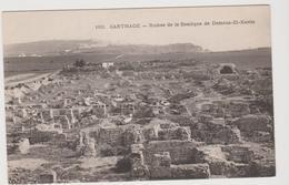 Tunisie: CPA: Carthage: Ruines De La Basilique De Damous El Karita - Tunisie