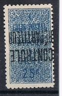 ALGERIE COLIS POSTAL N°7a N**  Variété Surcharge Renversée - Algérie (1924-1962)