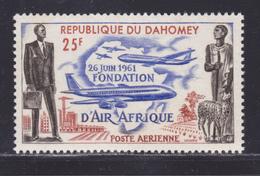 """DAHOMEY AERIENS N°   21 ** MNH Neuf Sans Charnière, TB (8605) Fondation De La Compagnie """"Air Afrique"""" - 1962 - Bénin – Dahomey (1960-...)"""