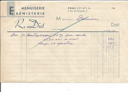 VP.0400/ Pons - Charente-Maritime - Diet Menuiserie Ebenisterie - France
