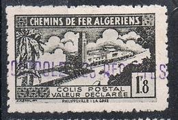 ALGERIE COLIS POSTAL N°84 N* - Algérie (1924-1962)