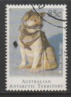 Australian Antarctic Territory 1994 Departure Of Huskies From Antarctica 85 C Multicoloured SW 100 O Used - 1990-99 Elizabeth II