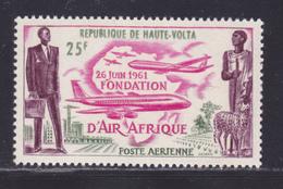 """HAUTE-VOLTA AERIENS N°    4 ** MNH Neuf Sans Charnière, TB (86007) Fondation De La Compagnie """"Air Afrique"""" - 1962 - Haute-Volta (1958-1984)"""