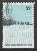 Australian Antarctic Territory 2009 South Magnetic Pole 1909-2009 55 C Multicoloured SW 177 O Used - 2000-09 Elizabeth II