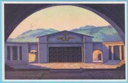 J.M.24 - Allemagne - Entier Postal - N° 45 - Religion - Théâtre - Jeux De La Passion - Musique