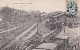 RENNES - Intérieur De La Gare - Stazioni Con Treni
