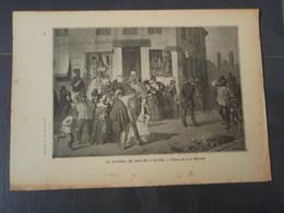 Le Général De Moltke à Reims Extrait De L'Histoire Populaire De La Guerre 1870/71 Tableau De Louis BRAUN - Militaria