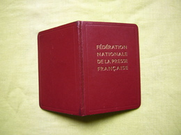 "Carte De Presse France 1984  ""Visiophonie"" Mr Alain Bernard - Vieux Papiers"