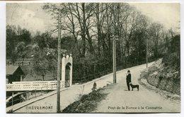 CPA - Carte Postale - Belgique - Chèvremont - Pont De La Ferme à La Casmatrie - 1914 (M7376) - Chaudfontaine