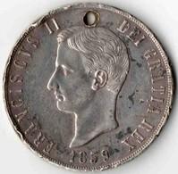 120 Grana NAPLES & SICILE 1859 - Monnaies Régionales