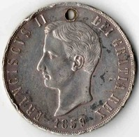 120 Grana NAPLES & SICILE 1859 - Regional Coins