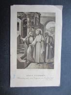 VP FAIRE-PART COMMUNION (M1611) ANDRé ALCOVER (2 Vues) Chapelle De L'Institut St Joseph La Louvière 16/06/1930 - Communion