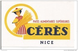 NICE / BUVARD Publicitaire - PATES ALIMENTAIRES SUPERIEURE CERES - Alimentaire