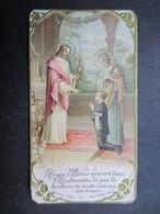 VP FAIRE-PART COMMUNION (M1611) FRANçOIS BAUDOUX (2 Vues) Chapelle De L'Institut St Joseph La Louvière 4/06/1931 - Communion