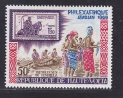 HAUTE-VOLTA AERIENS N°   63 ** MNH Neuf Sans Charnière, TB (D8614) Exposition Philexafrique à Abidjan - 1969 - Haute-Volta (1958-1984)