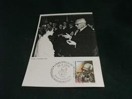 ALESSANDRO PERTINI CENTENARIO 1996 STELLA SAVONA IMMAGINE PERTINI 1982 - Uomini Politici E Militari