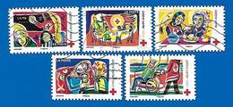 2017 - Croix Rouge N°1423,1424, 1427, 1428 Et 1429 - France