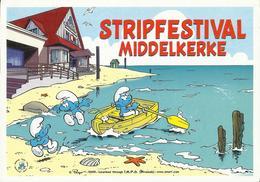 Middelkerke Milkyway Stripfestival Smurfen - Schtroumpfs -- Peyo 2003 - Middelkerke