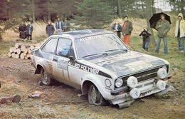 Rallye Lombard RAC 1976  -  Ford Escort RS1600  -  Pilote: Timo Makinen  -  15x10cm PHOTO - Rallyes
