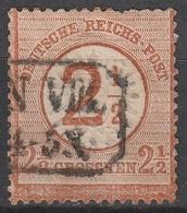 Deutsches Reich    .    Michel    .     29        .       O        .      Gebraucht - Gebraucht