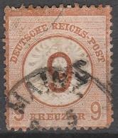 Deutsches Reich    .    Michel    .     30  Etwas Dunn        .       O        .      Gebraucht - Gebraucht