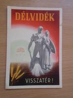 DELVIDEK - VISSZATER - PROPAGANDA - 1941 - Hungary