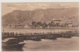 40113  Asie  China   Kan-Sou - Missions Scheut  -  Lan-Tcheou Pont Ancien  Sur Le Fleuve  Jaune - 5 - Chine