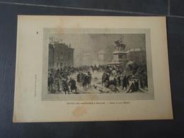 Entrée Des Allemands à Orléans Extrait De L'Histoire Populaire De La Guerre 1870/71. Tableau De Louis BRAUN. - Army & War