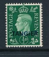 MOROCCO/TANGIER, 1937 ½d UM (MNH), Cat £6 - Marokko (1956-...)