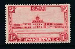 PAKISTAN, 1949 10As (crescent Points To Left) Very Fine MM, SG50, Cat £25 - Pakistan