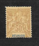 REUNION - N° 40 NEUF * - COTE = 26.00 € - Réunion (1852-1975)
