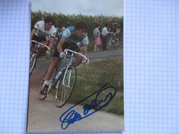 Cyclisle Photo Dedicacee Pedro Delgado - Radsport