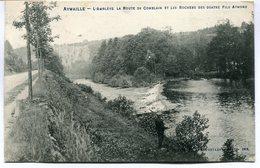 CPA - Carte Postale - Belgique - Aywaille - L'Emblève - La Route De Comblain Et Les Rochers  (M7380) - Aywaille
