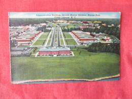 US Marine Base----- Camp Lejeune-------- Adminstration Building Second Marine Division   North Carolina > Ref 3169 - Militaria