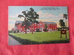 US Marine Base----- Camp Lejeune-------- Hostess House Hadnot Point  North Carolina > Ref 3169 - Militaria