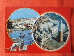 ITALIE - VENISE - ITALIA - VENEZIA, Ponte Di Rialto, Piazza San Marco, Multi-vues(2) - Venezia (Venice)