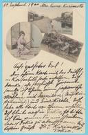 J.M.24 - Japon- Entier Postal - N° 62 - Chanteuse - Attelage - Rivière - Instrument De Musique - Musique