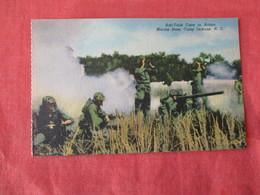 US Marine Base----- Camp Lejeune----- Anti Tank Crew In Action      North Carolina > Ref 3169 - Militaria