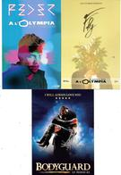 Lot De 9 Cartes Postales Publicitaires Spectacles Parisiens - Très Bon état - Spectacle