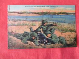 US Marine Base----- Camp Lejeune-----Machine Gun Nest     North Carolina > Ref 3169 - Militaria